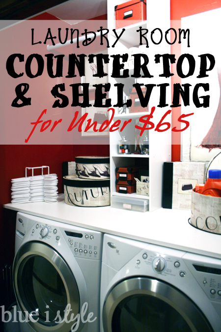 featured diy laundry countertop shelving for under 65
