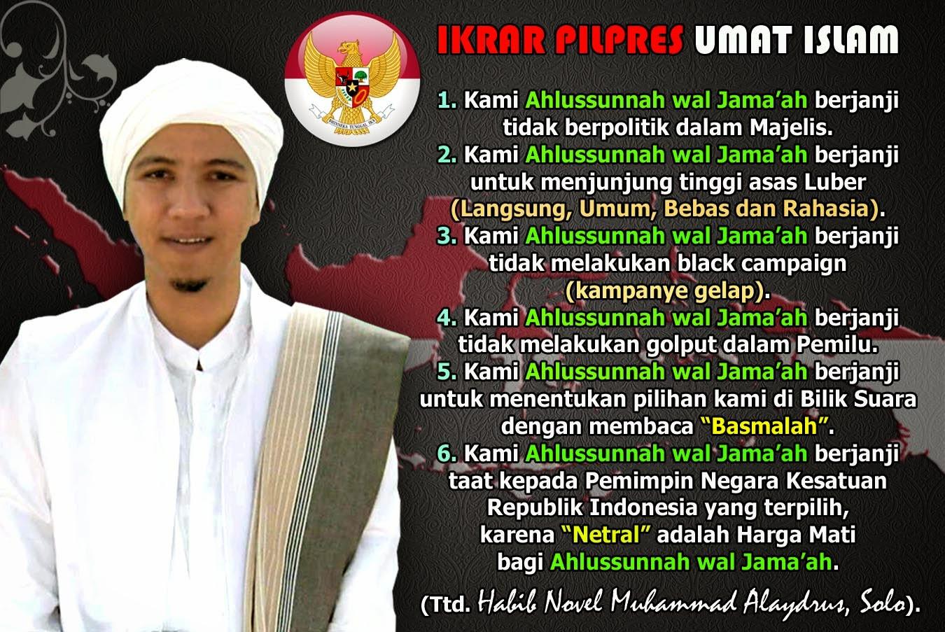 Ikrar Pilpres Umat Islam Muslimedia News Media Islam Voice Of