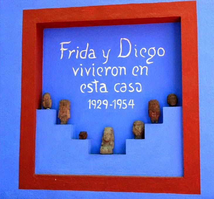 Sé la visita de Frida Kahlo