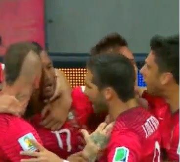 Nani Cetak Gol di Babak Pertama, Sementara Portugal vs AS 1-0