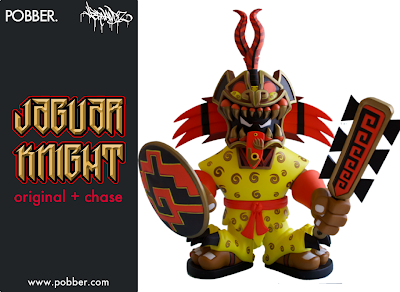 Pobber Toys: OG Jaguar Knight Vinyl Figure by Jesse Hernandez