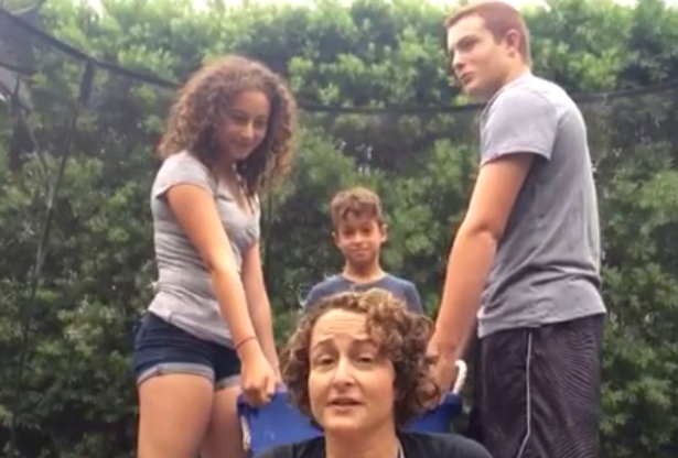 Hunger Games Nina Jacobson Ice Bucket Challenge