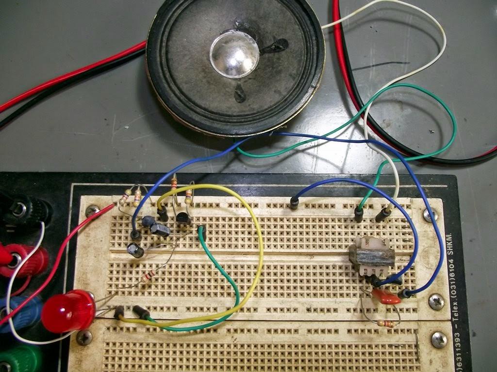 Circuito Walkie Talkie Casero : Sirene com três transistores pakéquis