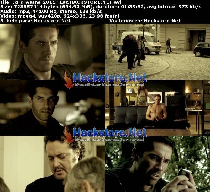 Captura Juego De Asesinos (2011) DVDRip Latino