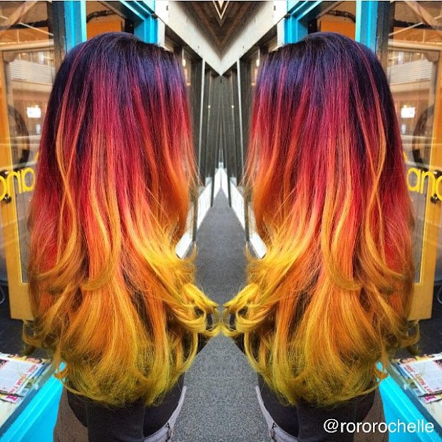 unique and amazing hair colors