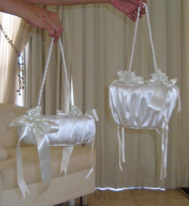 Para Noiva Fa 231 A Voc 234 Mesmo Sua Cesta Para Florista