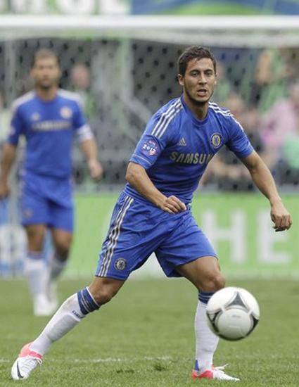 Eden Hazard Winger Chelsea, Profile