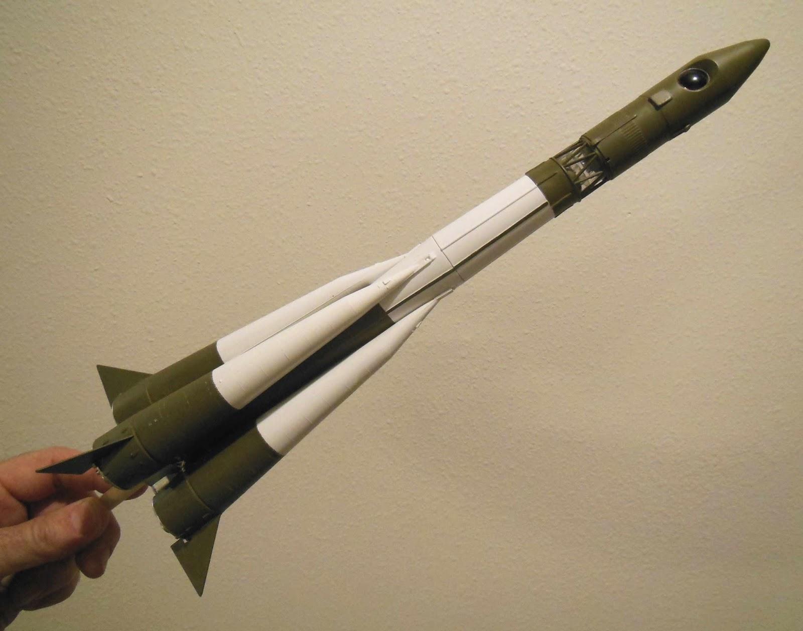 vostok rocket model - photo #5