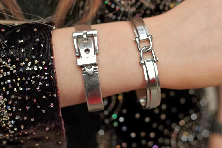 FOSSIL Schmuck - Damen-Armband JF00808040, Fossil armreif aus edelstahl, silbernes armband von fossil aus edelstahl