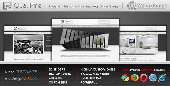 ThemeForest - QualiFire WordPress Theme