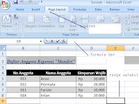 Cara print screen layar Excel