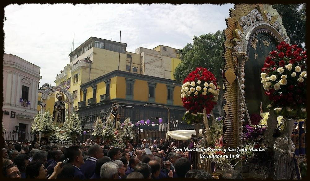 San Martín de Porres y San Juan Macías hermanos en la fe