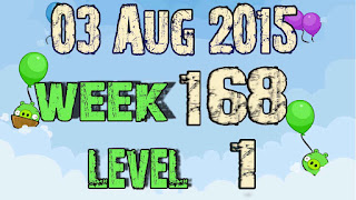 Angry Birds Friends Tournament level 1 Week 168