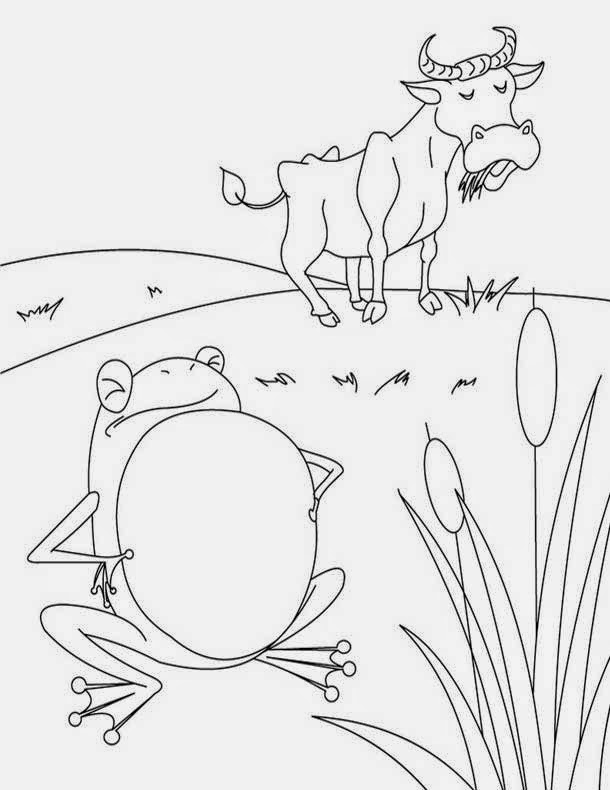 aesop fable coloring pages - photo#20