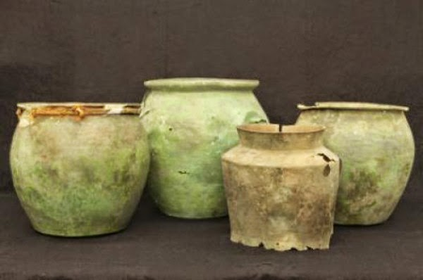 temuan sumur kuno, keramik kuno