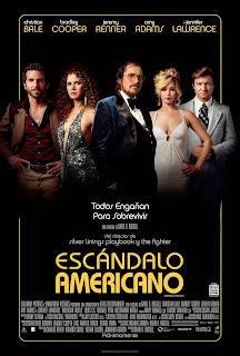 Escandalo Americano (American Hustle) Poster