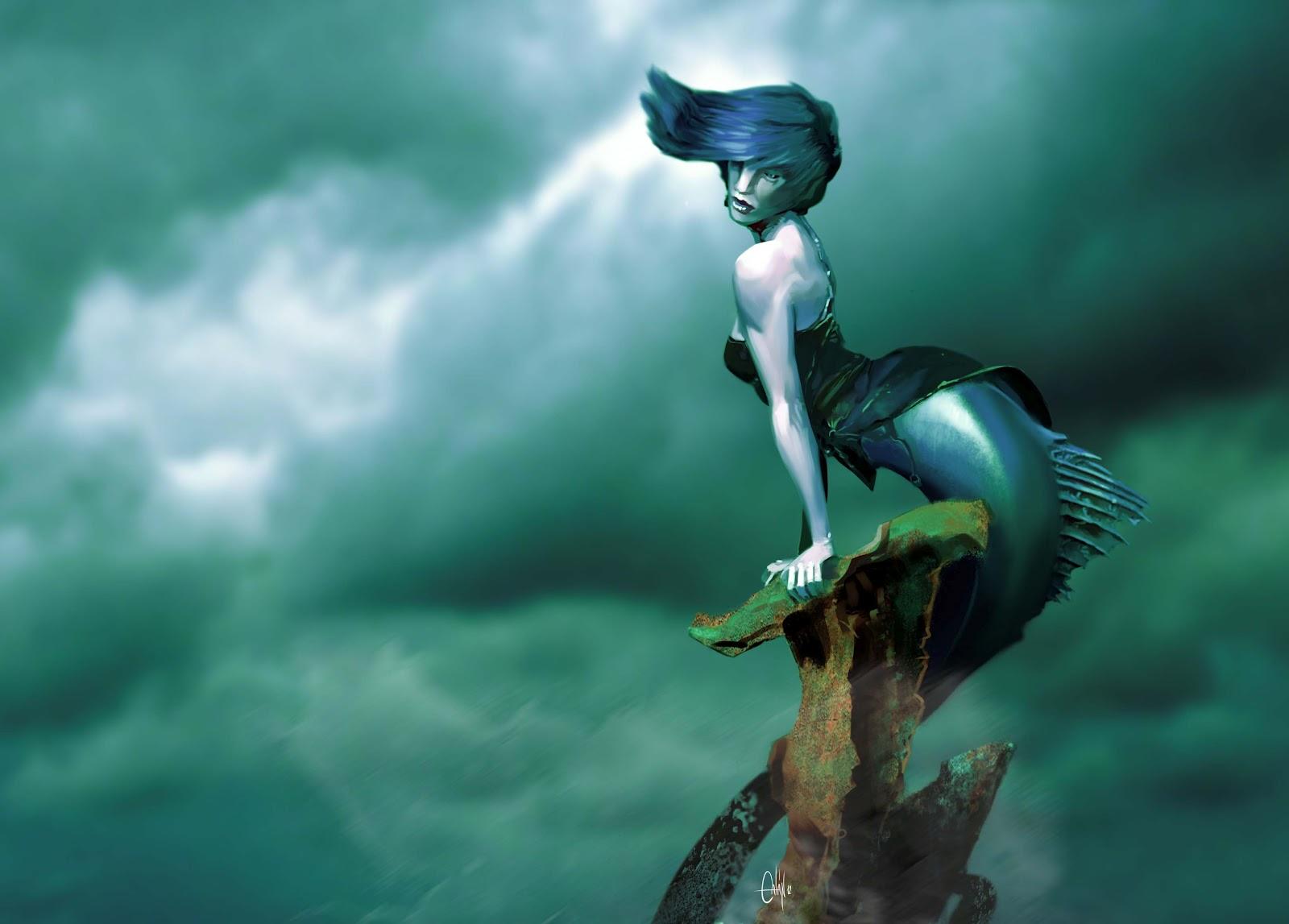 Origen art sirena - Colorazione sirena pagina sirena ...