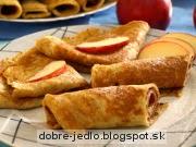 Jablkové palacinky - recept
