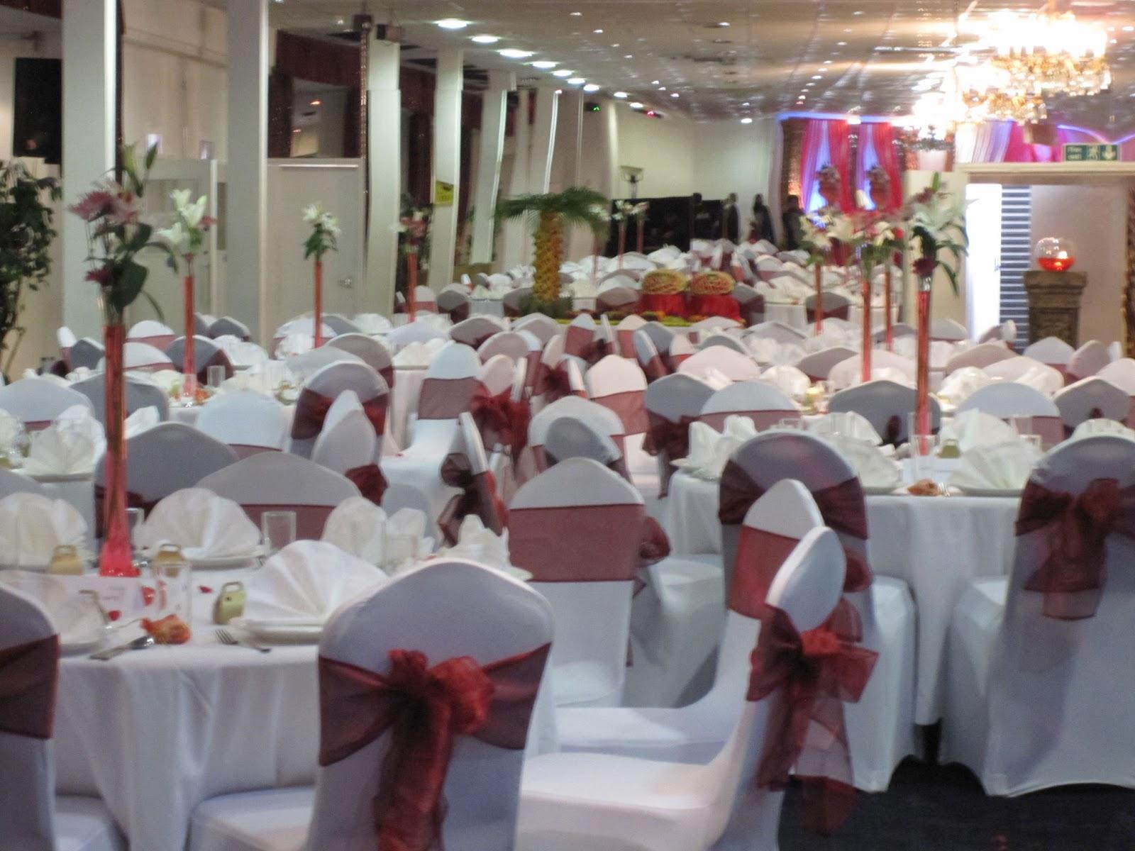 Happy Muslim Mama Fashionistas Wedding Reception Venue And Food Displays