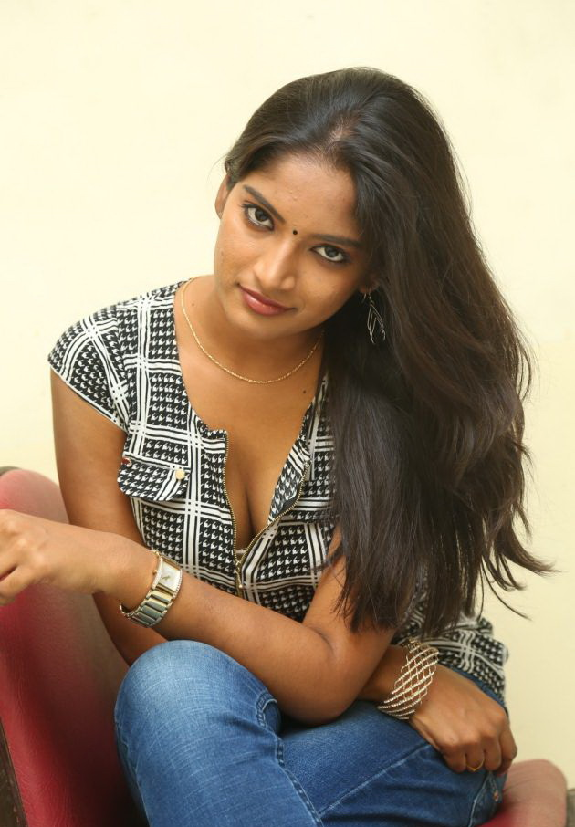 Actress Keerthi  Pictures in Jeans at TLLILKBL Press Meet  12.jpg
