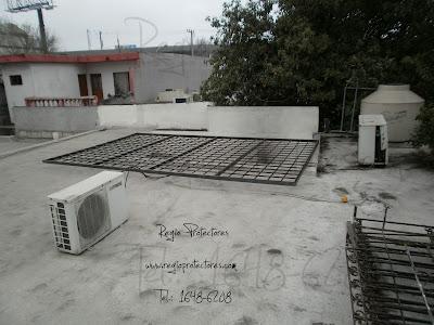 Regio protectores reja de seguridad para patio fracc for Cubre escaleras