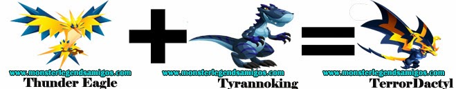 como sacar a terrordactyl en monster legends formula 1