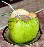 Coconut water dissolves kidney stones