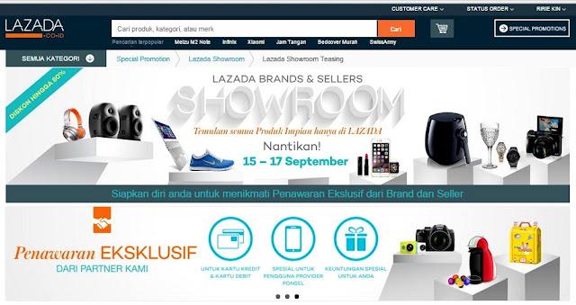 Lazada Showroom Teasing