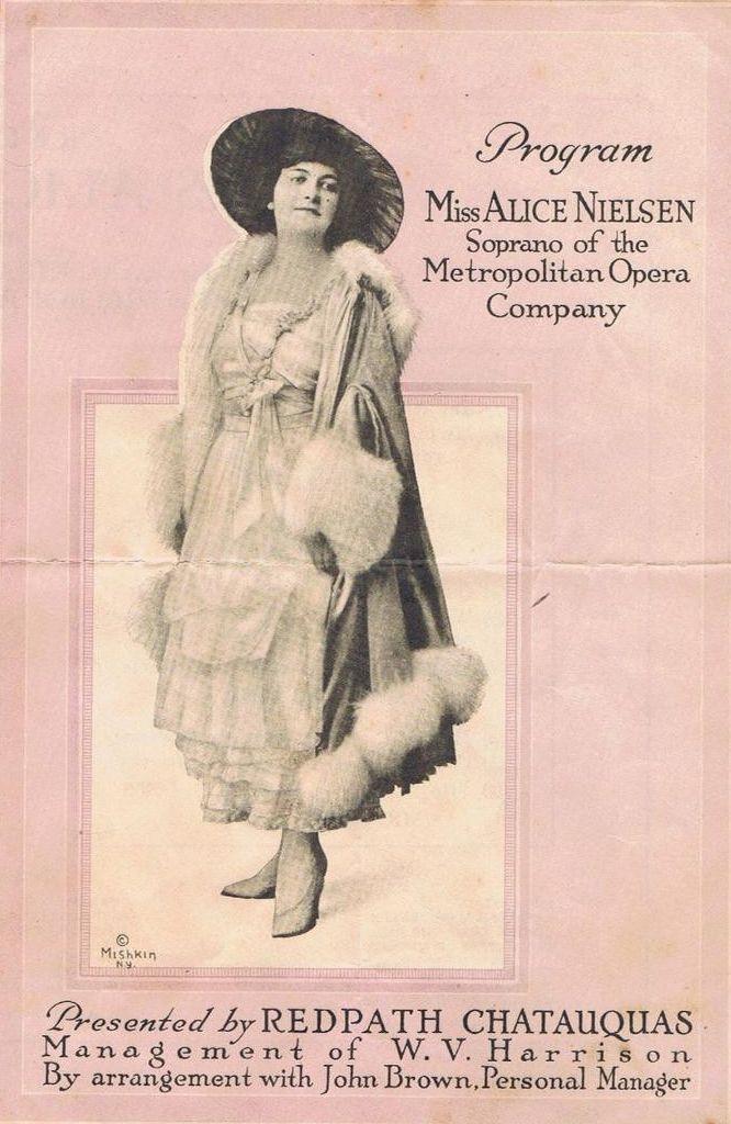 AMERICAN SOPRANO ALICE NIELSEN (1872-1943) CD