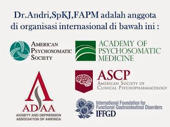 Afiliasi Internasional Dr.Andri,SpKJ,FAPM