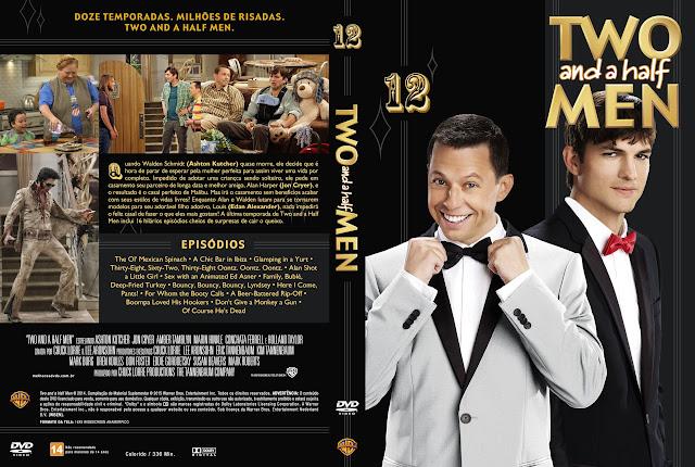 Capa DVD Two And A Half Men 12ª Temporada Completa