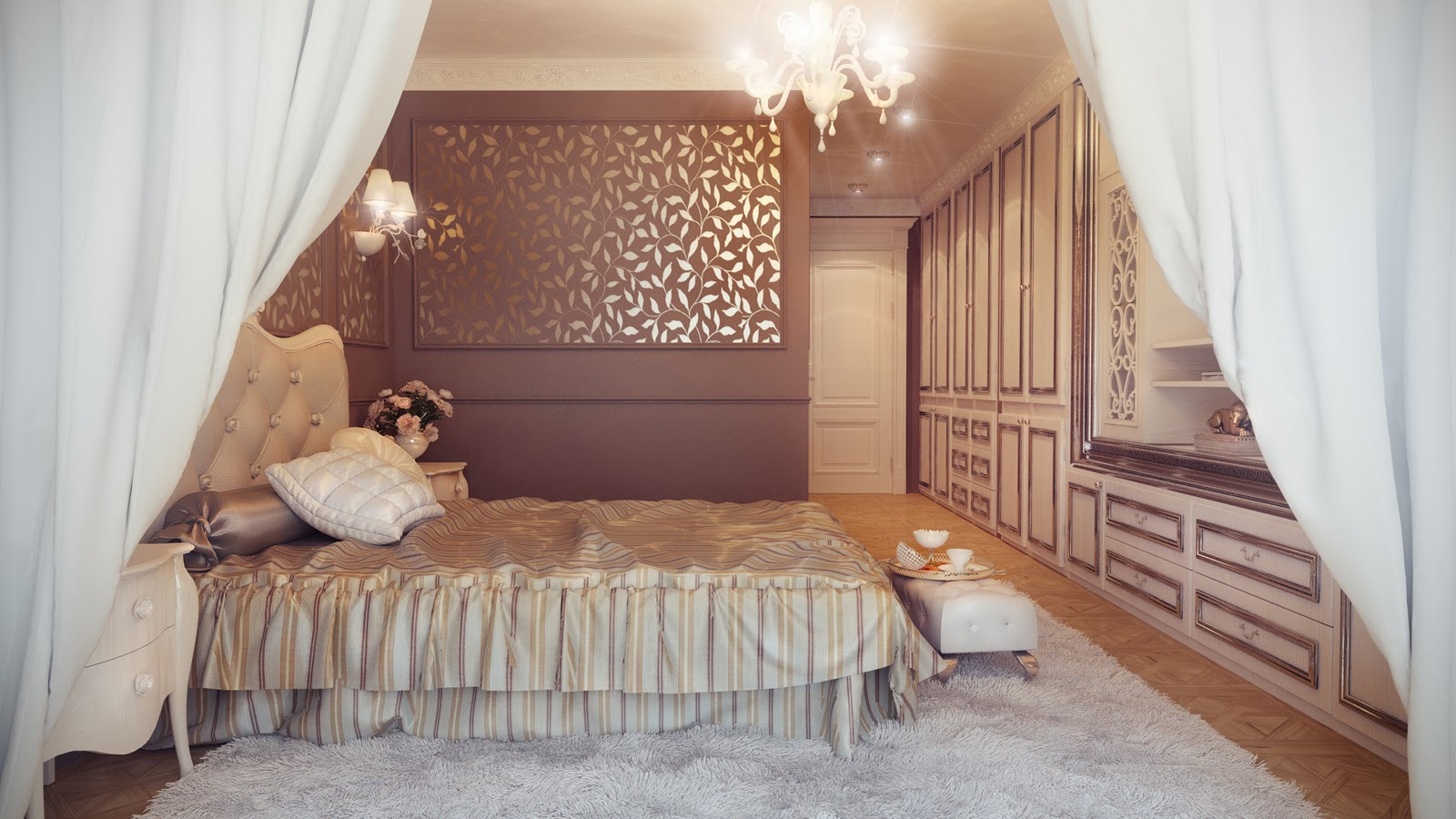 Kamar Tidur akan menjadi tempat yang menyenangkan apabila didesain