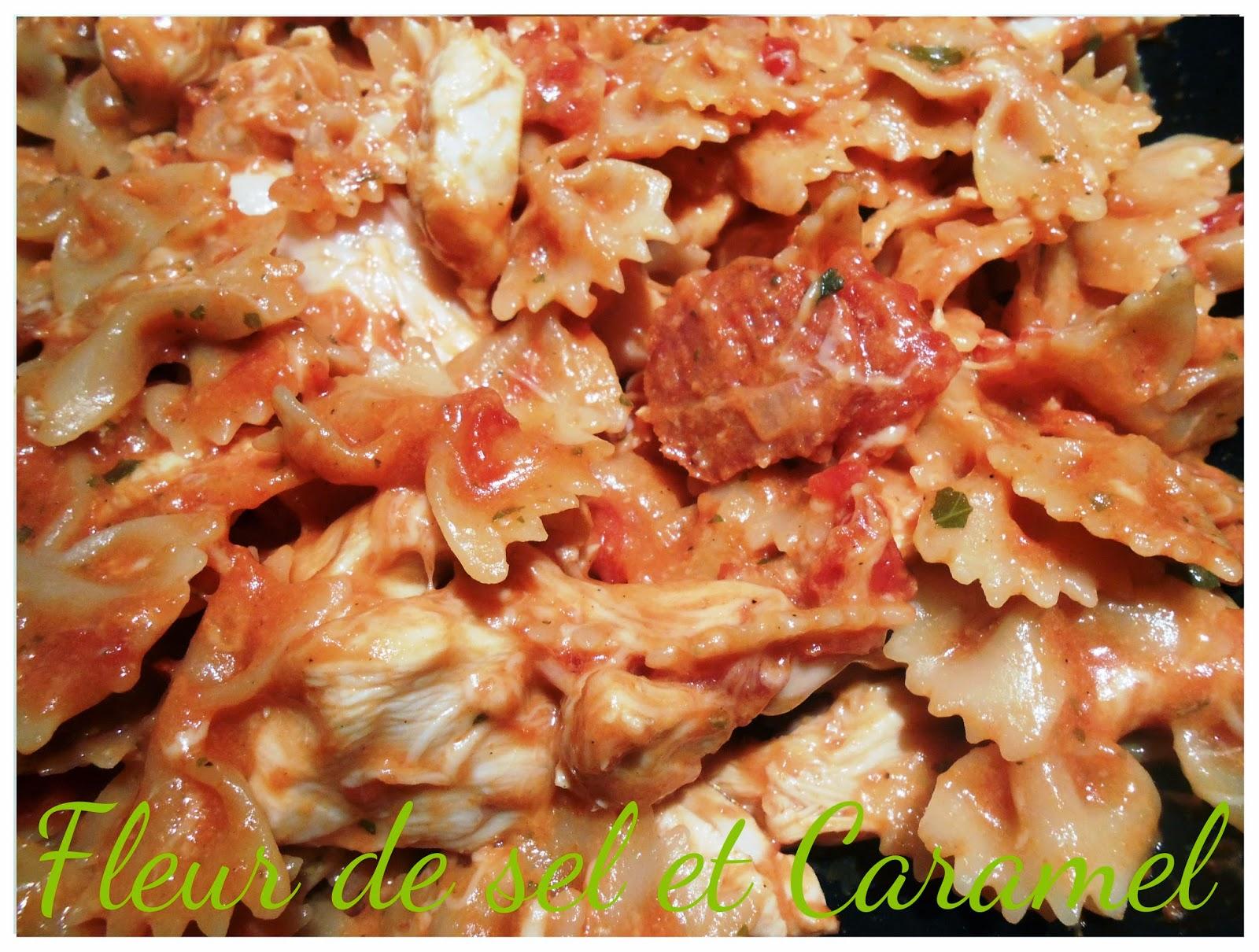 One pot pasta : Pâtes au poulet et chorizo