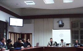 Aspecte din timpul şedinţei CNHGS-I, 15.XI.2011...