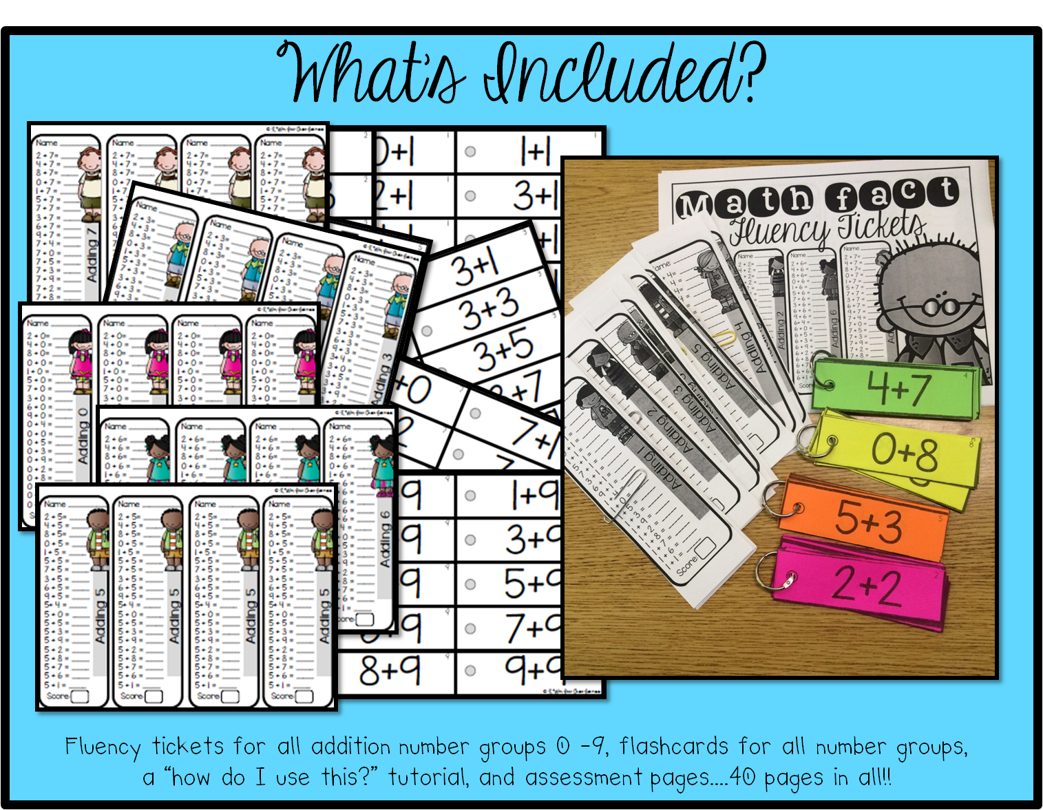https://www.teacherspayteachers.com/Product/Math-Fact-Addition-Fluency-Tickets-1760557