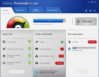 Uniblue PowerSuite Pro 2013 v4.1.4.0