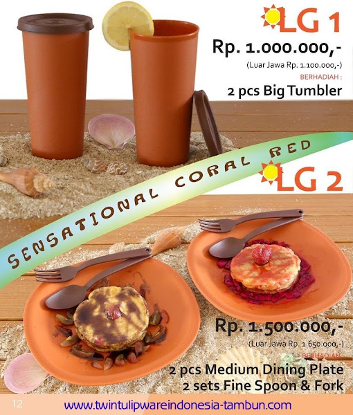 Level Gift 1 & 2 Twin Tulipware September - Oktober 2015