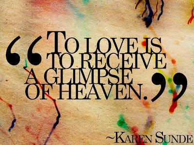 Best Love Wuotes By Karen Sunde Wallpaper