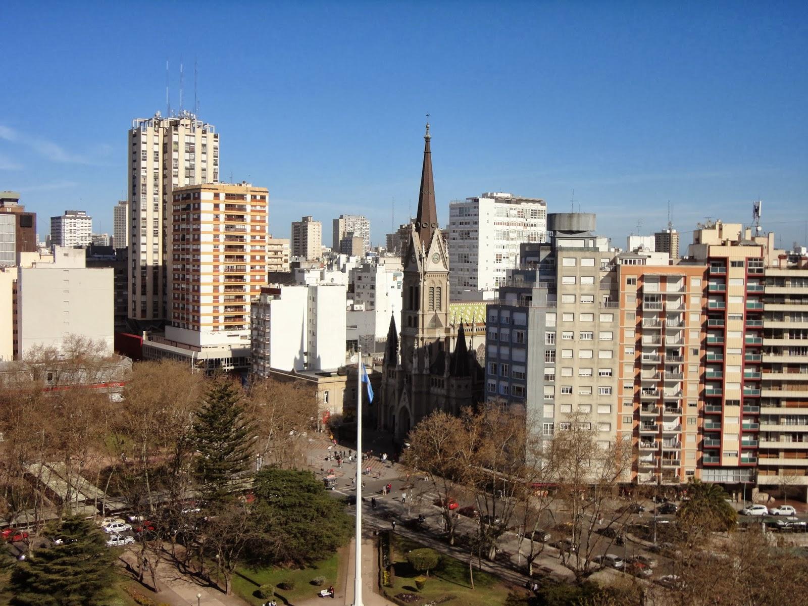 Mslc Catedral De Mar Del Plata Skyline
