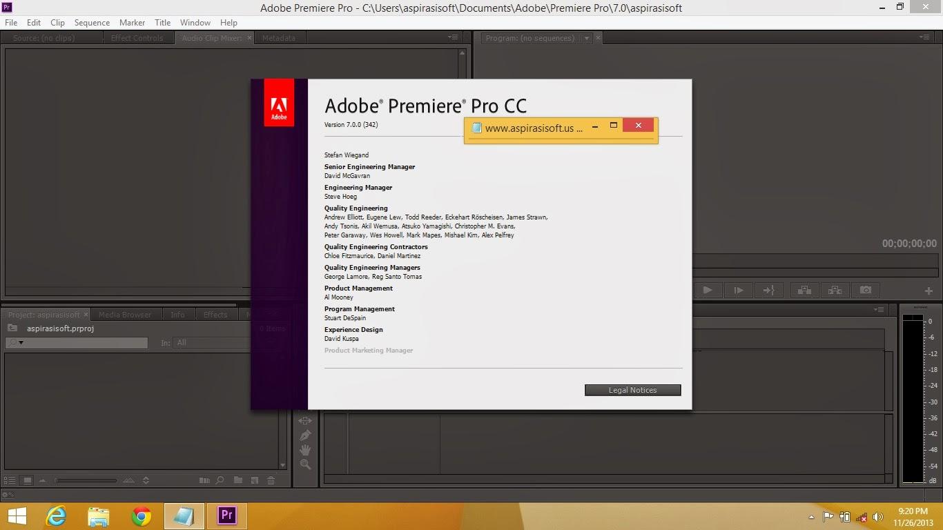 adobe premiere pro cc 2014 64 bit full crack