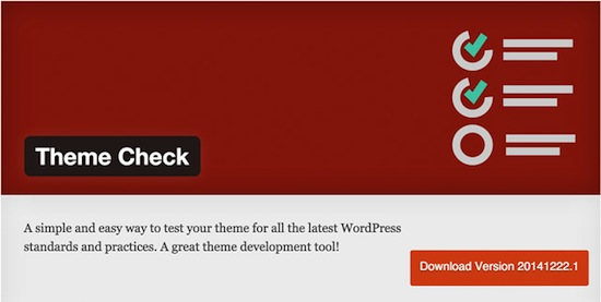 9 Must Have Wordpress Plugins in 2015 : Theme Check Featured image.