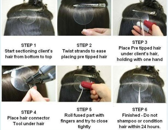 How to install i tip hair extensions trendy hairstyles in the usa how to install i tip hair extensions pmusecretfo Gallery