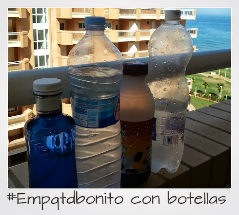 Reto #Empaquetado bonito - botellas