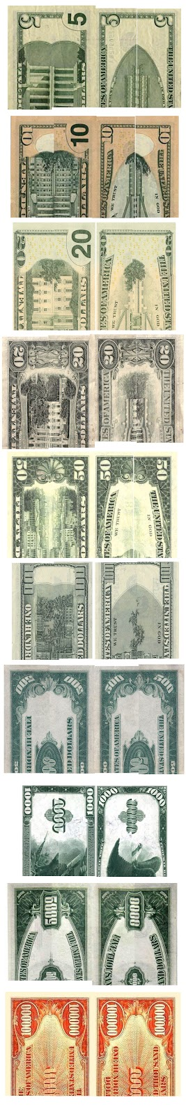 The United States fivedollar bill 5 is a denomination of United States currency The current 5 bill features the 16th US President 186165 Abraham Lincolns