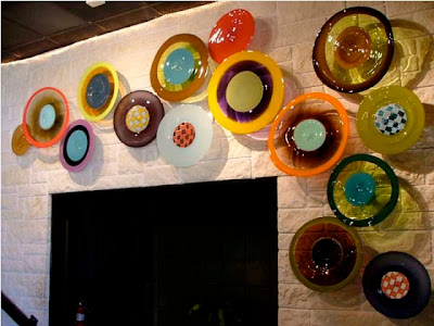 Beautiful glass wall hangings #1