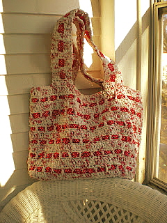 how to make a pop tab purse with ribbon