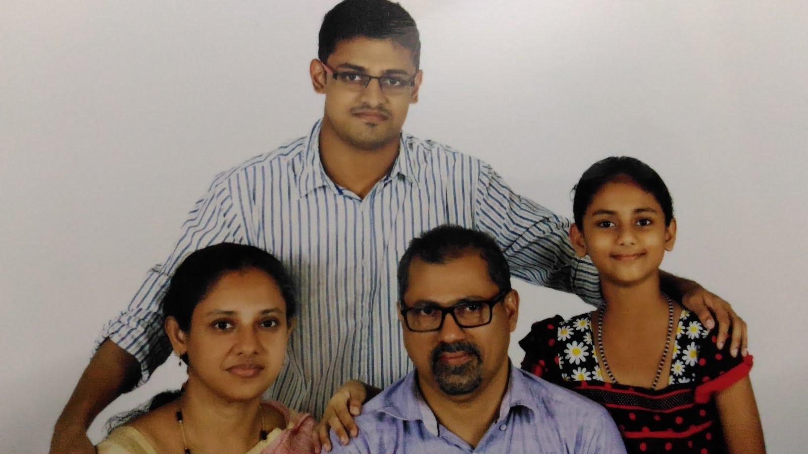 Sam,Sheela, Vishal and Vijitha