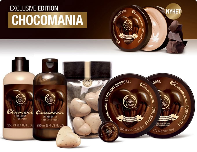 THE BODY SHOP LINHA CHOCOMANIA