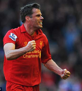Carra's last game for Liverpool