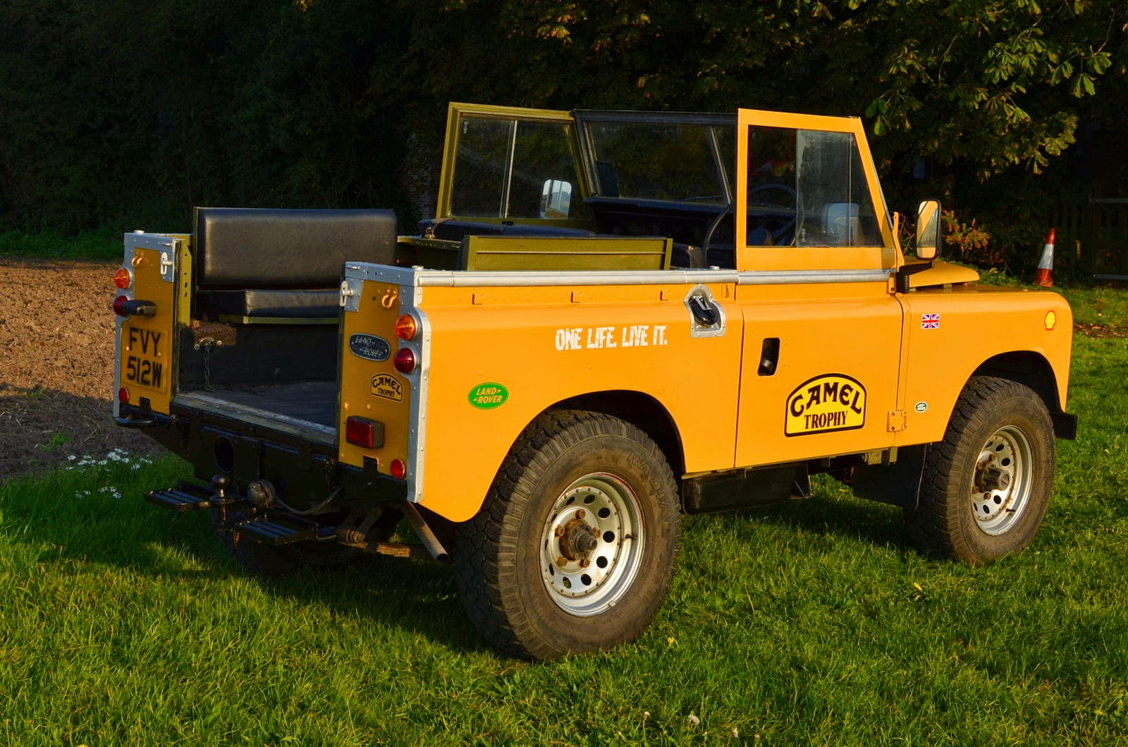 1981 Land Rover Series Iii 88 Swb Iconic Camel Trophy